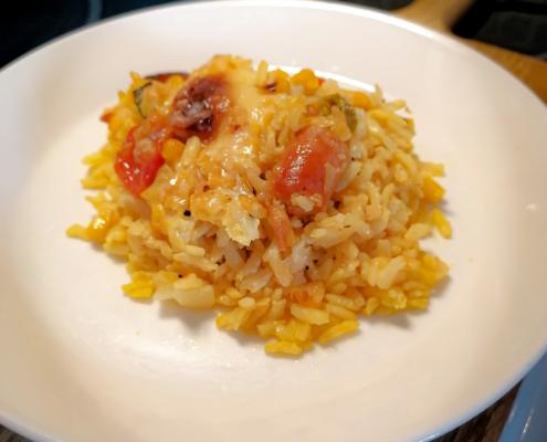 Makkara-riisivuoka