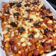 makkara lasagne